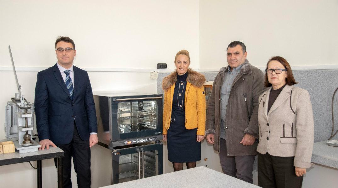 """""""Белла България"""" дари професионално оборудване на Тракийския университет"""